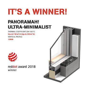 panoramah!® GANHA RED DOT AWARD 2018